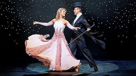 Strictly Come Dancing's Anton & Erin Credit: Supplied by Potters Resort