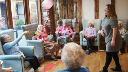 An adult day care service that offers regular activities and support for your elderly relatives. Pi