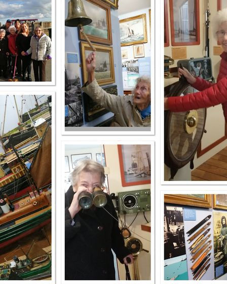 The day care residents often visit local attractions including the Lowestoft Maritime Museum. Pictur