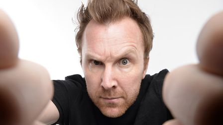Jason Byrne is coming to Norwich Playhouse Credit: Steve Ullathorne