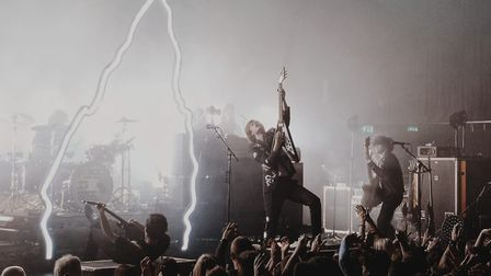At the LCR at the UEA, The Amazons got the party started. Picture: Tom Haistead-Stockwell