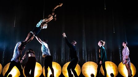 Among the acts confirmed for the Norfolk and Norwich Festival 2020 are acrobatics company Gravity &