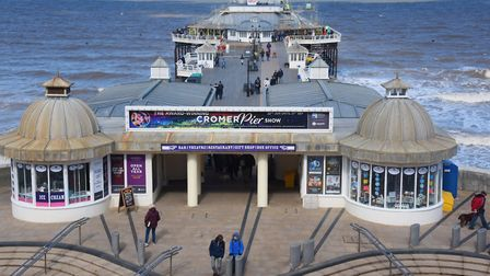 The historic Cromer Pier in North Norfolk, a constituency where the 2019 general election battle is