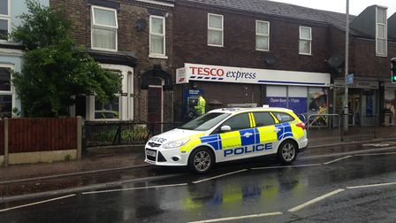 The scene of a carjacking in Norwich. Picture: Archant