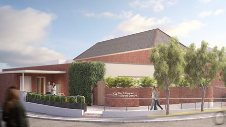 Proposed plans for a new state-of-the-art Big C centre on Dereham Road in Norwich. Picture: Big C
