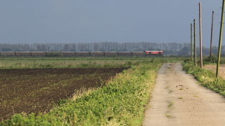 Peat on the Lynn to Ely line. Photo: Submitted