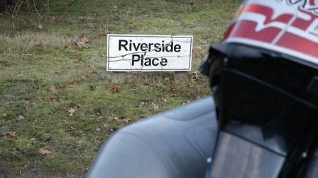Emergency services were called to Riverside Place at Wortham Ling, near Diss, after a man walking he