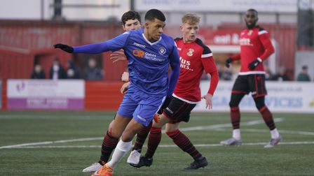 Malachi Linton was on the scoresheet in Lowestoft Town's 4-1 defeat at Tamworth. Picture: SHIRLEY D