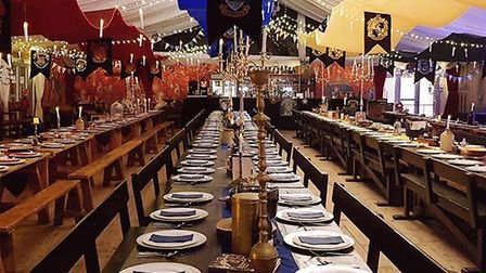 A previous event held by the Norfolk Christmas Party company. Credit: My Fleur/Norfolk Christmas Par
