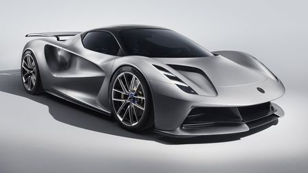 The new electric hypercar, the Evija. Pic: Lotus