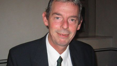 Dennis Pearce pictured in 2010 when he stood for the BNP in South West Norfolk. Photo: Dennis Pearce