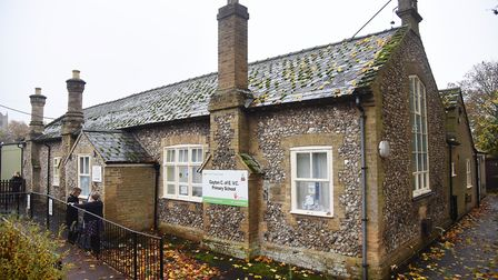 Gayton Primary School. Plans have been submitted for a replacement school building. Picture: Ian Bur