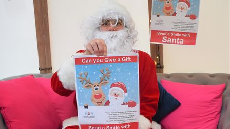 Norwich and Norfolk Hospital Charity is making its final call for its Send a Smile with Santa Appeal