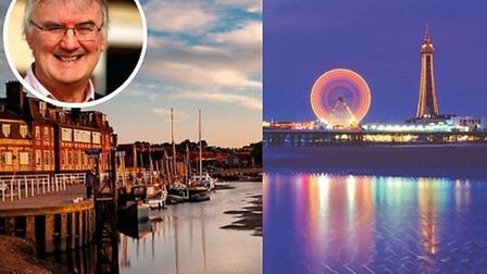 """Andrew Brown has warned that Blakeney may be at risk of """"competing with Blackpool"""". Photos: Ian Moxe"""