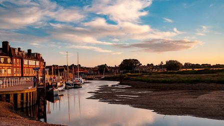 Pictured, Blakeney, in north Norfolk. Picture: IAN MOXEY