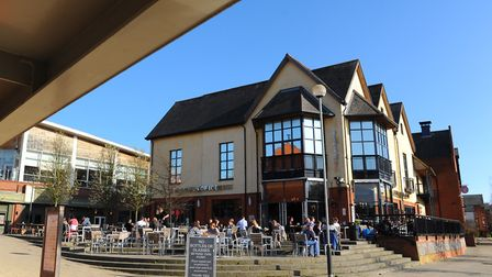 A teenager was attacked in the toilets of the Queen of Iceni in Norwich .Photo: Steve Adams