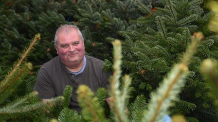 Paul Oxborrow, Thorpe Plant Centre owner, who is offering the quirky experience of going through the