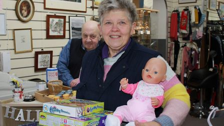 """Sheringham Salvation Army shop manager Cindy Farrow, who said staff and volunteers had been """"inundat"""