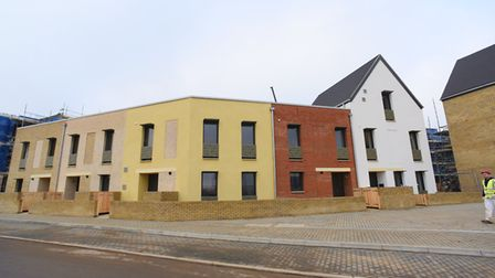 The new Passivhaus homes at Rayne Park, Bowthorpe. Picture: DENISE BRADLEY