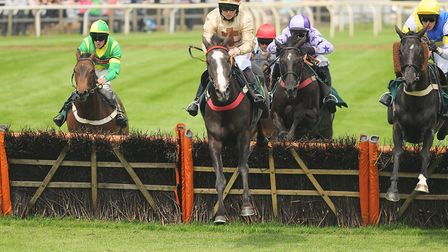 The fight happened following a day of races at Fakenham Racecourse. Picture: Ian Burt
