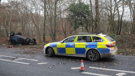 The A47 was closed while police dealt with the incident Picture: Casey Cooper-Fiske