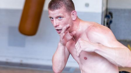 Fighting fit - Michael Walsh Picture: Mark Hewlett