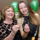 Director of Quality Dr Noreen Cushen-Brewster (left) presents the Delivering Exceptional Care Award