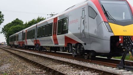 Greater Anglia's new trains in service. Picture: DENISE BRADLEY