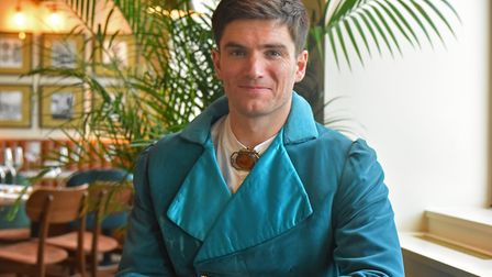 David Witts will be starring as Prince Charming in this years pantomime at Norwich Theatre Royal. Pi