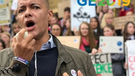 Clive Lewis is standing for the Labour Party in Norwich South. Photo: Archant