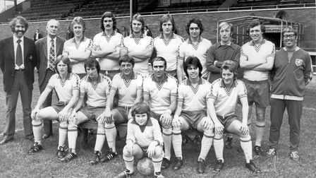 The Linnets' trailblazing squad in the 1960s Picture: Archant