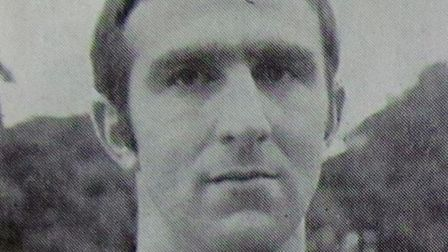 Mick Wright in his Linnets heyday Picture: Archant