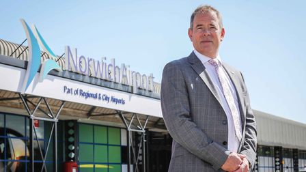 Richard Pace, Managing Director, Norwich Airport. The airport has published its Fly Norwich 2020 pre