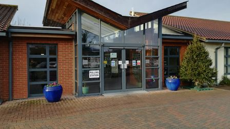 The Norfolk Hospice which is being used as a polling station for Hillington. Photo: Casey Cooper-Fis
