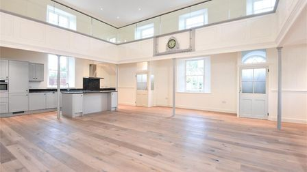 This chapel conversion at North Lopham is the most viewed in Norfolk in 2019 on Rightmove