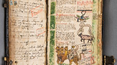 This 16th century commonplace book has been adopted by the Eastern Daily Press and Norwich Evening N