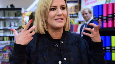 Caroline Flack has been charged with assault by beating. Picture: DENISE BRADLEY