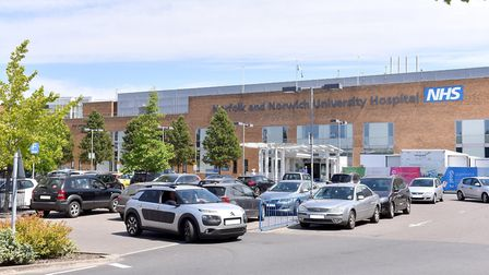 Patients have experience more parking problems at Norfolk and Norwich University Hospital. Photo: Ni