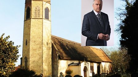 Huw Edwards, who is vice president of the National Churches Trust, has welcome grant to restore Al S