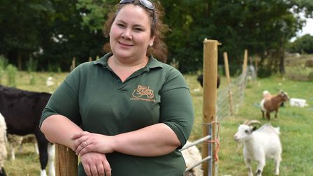 Hapton farmer Carrie Burridge who was horrified with how sheep were being kept and warned trading st