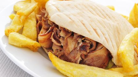 A Norwich takeaway is offering either a burger, chips and drink meal or lamb doner, chips and drink