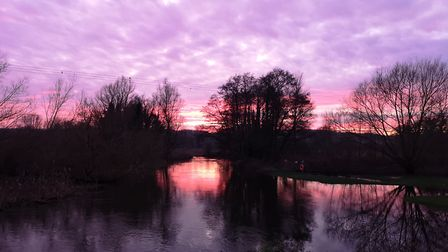 This sky was captured in Ringland. Picture: Sue Stephenson-Martin