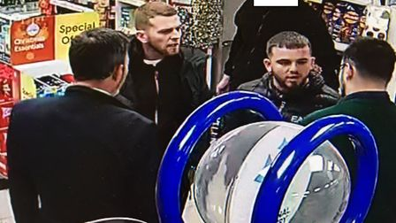 Anyone who recognises these two men should contact PC Rob Wells at Norwich North police station on 1