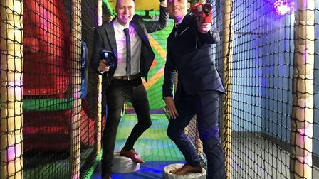 Superbowl in the Castle Quarter has launched a Laser Quest game within the children's soft play area