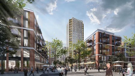 Plans for Anglia Square include a 20-storey tower. Photo: Weston Homes