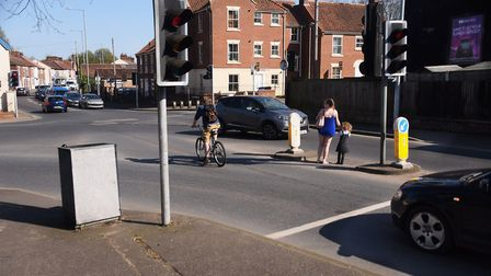 The junction of Mile Cross Road, Heigham Street, and Nelson Street, where new crossings will be put