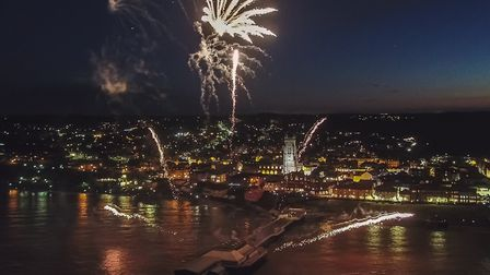 A council has debated the use of silent fireworks in an effort to make displays less distressing to