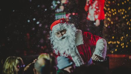 Father Christmas inThe Wonder 2019 which was performed by SOUL Church on Mason Road in Norwich. Pict