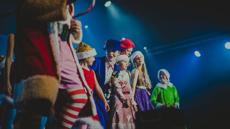 The cast of The Wonder 2019 performed by SOUL Church on Mason Road in Norwich. Picture: Joyce Pfeife