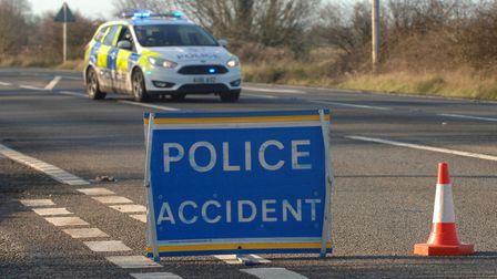 The A47 has been closed near King's Lynn after a serious collision Picture: Chris Bishop